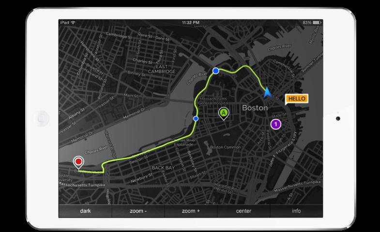 MapNav Geolocation Toolkit - Navigation map online